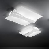 LINEALIGHT ZIG ZAG SOFFITTO 69,5 X 61