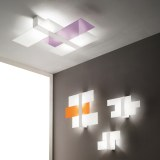 LINEALIGHT TRIAD PARETE/SOFFITTO 62X51,7