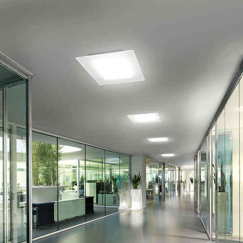 LINEALIGHT DUBLIGHT LED SOFFITTO 100X30