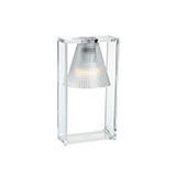KARTELL LIGHT-AIR SCULTURATA TAVOLO CRISTALLO