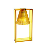 KARTELL LIGHT-AIR SCULTURATA TAVOLO AMBRA