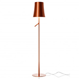 FOSCARINI BIRDIE LED LETTURA TOUCH DIMMER COPPER