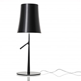 FOSCARINI BIRDIE LED TABLE BIG TOUCH DIMMER GRAPHITE